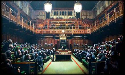 Banksy-monkey-parliament