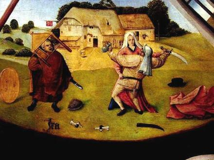 H. Bosch, 7 Deadly Sins: Anger