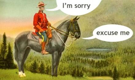 Polite Mounty