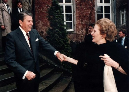 Neoliberal soulmates: Reagan and Thatcher