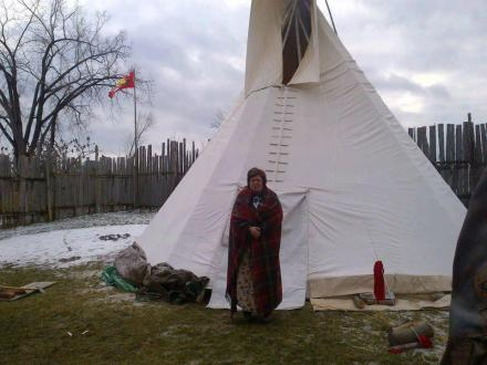 Chief Theresa Spence. (by Regina Southwind, Rabble, December 17)